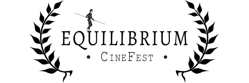 Alloro sulla scritta Equilibrium CineFest