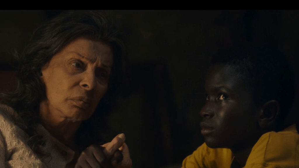 sophia loren e ibrahima gueye - madame rosa e momò nel film del 2020