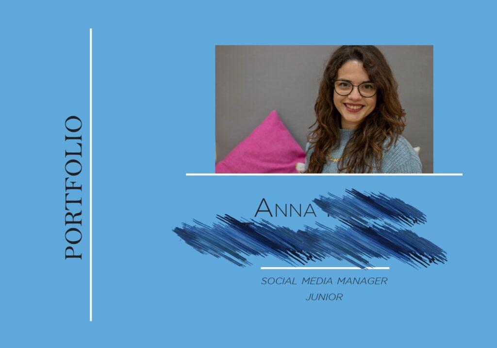 portfolio artistico anna - copertina